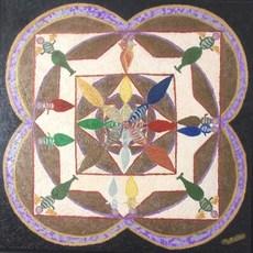 ATCHAMA - Painting - l' homme de la conscience