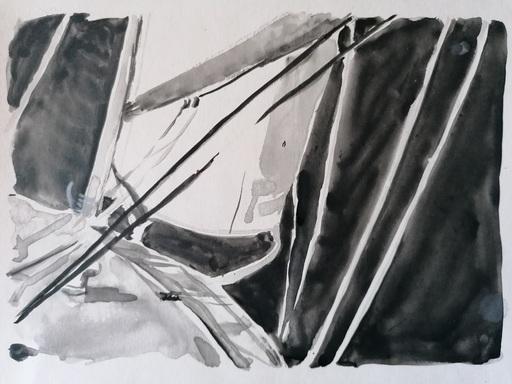 Diana KIROVA - Zeichnung Aquarell - CBG02
