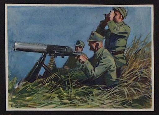 """Ernst LIEBENAUER - Pittura - """"Germans in World War I"""" by Ernst Liebenauer, ca 1915"""