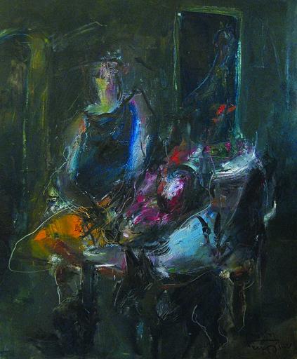 Kostis GEORGIOU - Painting - Synthesis Z