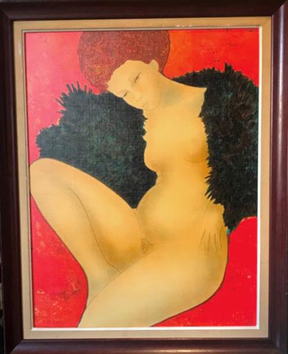 Alain BONNEFOIT - Pintura - Isla