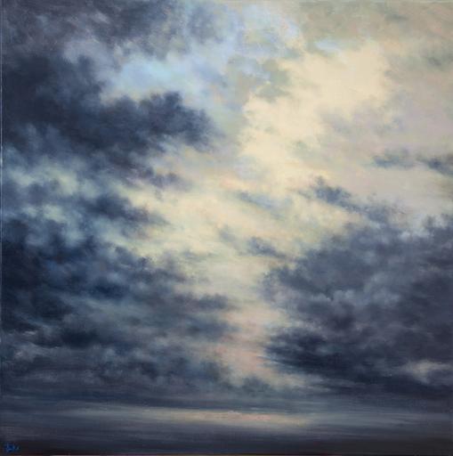 Franck BAILLEUL - Gemälde - La Cathedrale Englouite