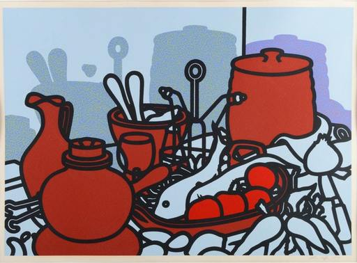 Patrick CAULFIELD - Stampa-Multiplo - Glazed Earthenware