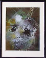 Oscar GAUTHIER - Painting - Fleurs II