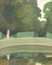 Sergei Yur'evich SUDEIKIN - Painting - View in a Park