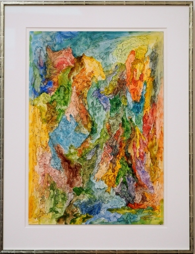Bernard SCHULTZE - Zeichnung Aquarell - Lauter Irrwege