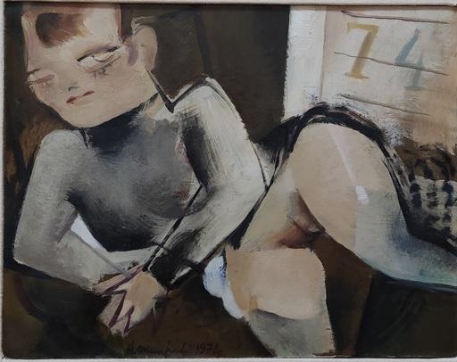 Alberto MANFREDI - Pittura - Senza titolo