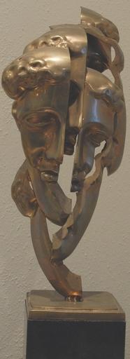 Fernandez ARMAN - Sculpture-Volume - Visage