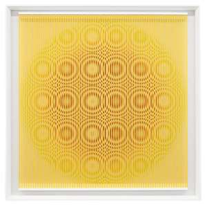Alberto BIASI - Painting - Yellow rain