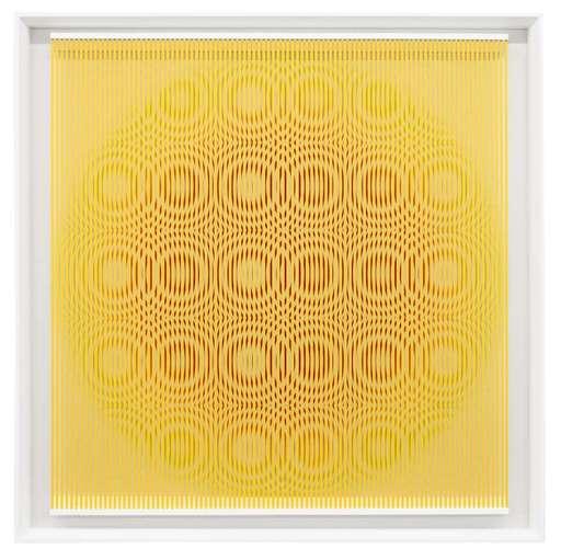 Alberto BIASI - Peinture - Yellow rain