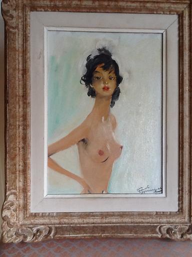 Jean Gabriel DOMERGUE - Painting - Sandy