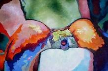 Claude THIEL DE NEUVILLE - Peinture - Passion isothermsn°10