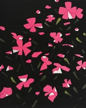 Alex KATZ - Estampe-Multiple - White Impatiens