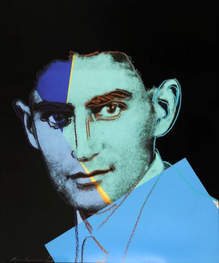 安迪·沃霍尔 - 版画 - Franz Kafka