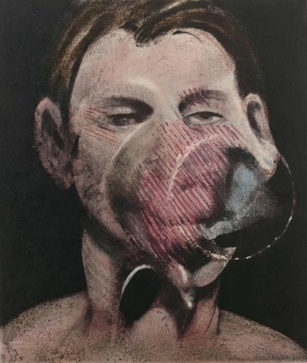 弗朗西斯•培根 - 版画 - Portrait de Peter Beard