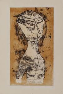 Paul KLEE - Print-Multiple - Die Heilige vom innern Licht