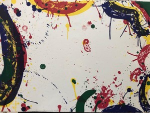 Sam FRANCIS - Print-Multiple - Colors in Space