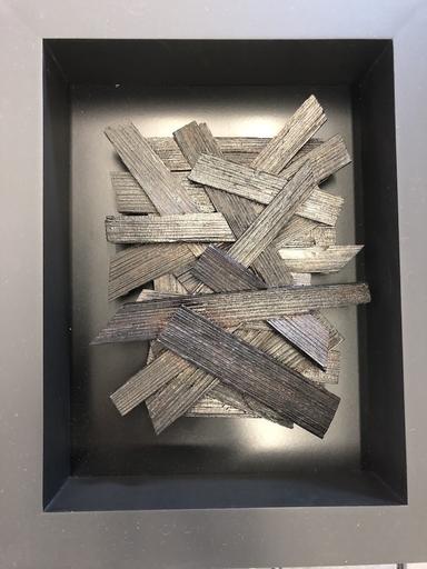 Bernard BEZZINA - 雕塑 - Bois déchiré