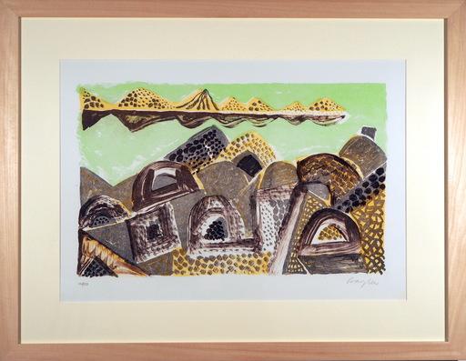 Eduard BARGHEER - Grabado - Der Niger