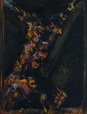 Felice FILIPPINI - Pintura - Crocefissione