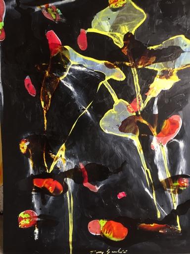 Tony SOULIÉ - Painting - Dreamed Flower iii    .