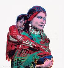 安迪·沃霍尔 - 版画 - Mother and Child (FS II.383)