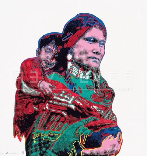 Andy WARHOL - Stampa-Multiplo - Mother and Child (FS II.383)