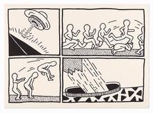 Keith HARING (1958-1990) - Blueprint Drawings #3