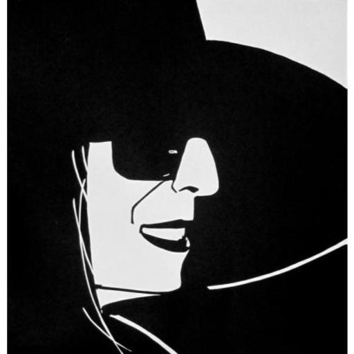 Alex KATZ - Grabado - Black Hat (Ada)