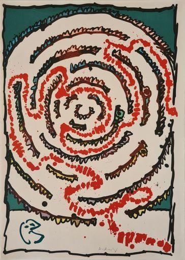 皮埃尔·阿列钦斯基 - 版画 - Labyrinthe d'apparat III
