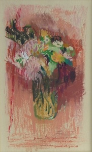 Paul COLLOMB, Bouquet de fleurs