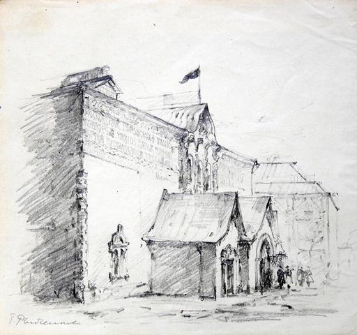 Boris Fedorovich RYBCHENKOV - Dibujo Acuarela - State Tretiakov Gallery in Moscow,