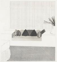 大卫•霍克尼 - 版画 - Cushions