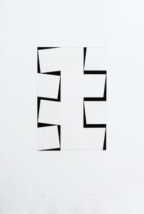 John CARTER - Print-Multiple - One column eight. Identical shapes