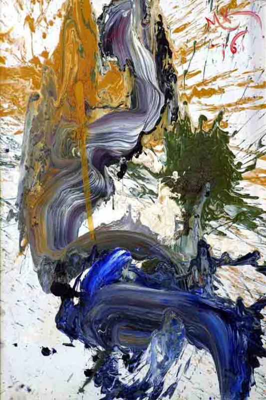 "Mikhail KOULAKOV - Pintura - ""Dragon tale IV"""