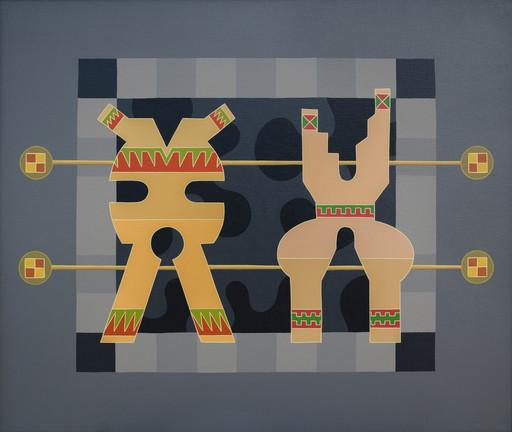 Enrique Rodriguez GUZPENA - Painting - Manantial esférico