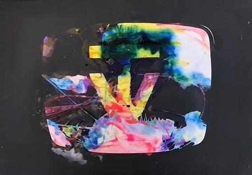 Mario SCHIFANO - Peinture - TV