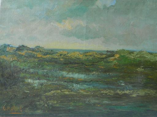 Gerrit MARRÉ - 绘画 - PAYSAGE - LANDSCAPE - SEA