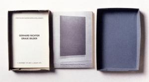 Gerhard RICHTER, Gerhard Richter. Graue Bilder