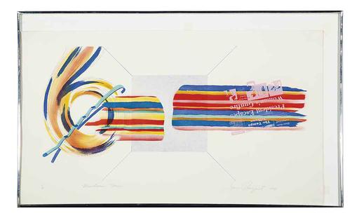 James ROSENQUIST - Print-Multiple - Windscreen Horizon
