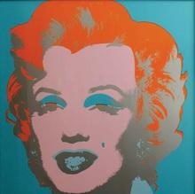 Andy WARHOL - Print-Multiple - Marilyn Monroe Blue