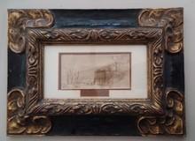 REMBRANDT VAN RIJN - Drawing-Watercolor - Landscape  in Holland