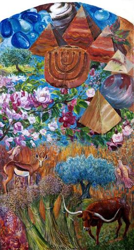 Victor BRINDATCH - Peinture - JOSEPH'S tribe of 12 tribes of ISRAEL