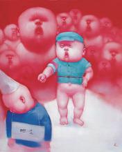 YIN Kun - Pintura - Heroes - Criticism
