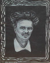 "Edvard MUNCH (1863-1944) - ""Augut Strindberg"""