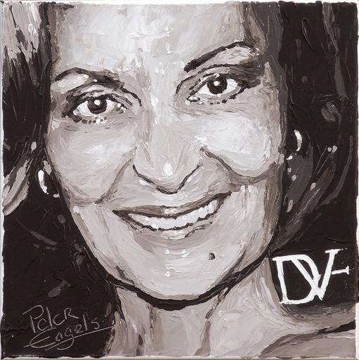 Peter ENGELS - Painting - Diane von Furstenberg
