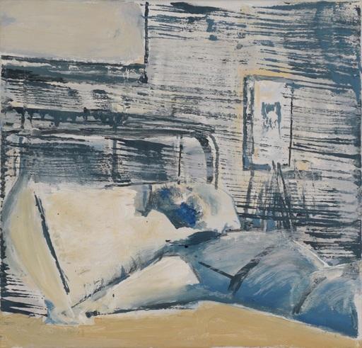 Andrzej CISOWSKI - Gemälde - Lying Figure