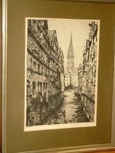 Luigi KASIMIR - Print-Multiple - Steckelhörnfleet - Alt-Hamburg