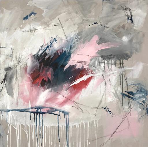 Jutta Rika BRESSEM - Painting - Gedankensplitter V