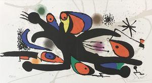 Joan MIRO - Print-Multiple - Joan Miro